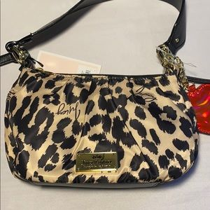 Juicy Couture Glam Rock Mini Crossbody  Leopard